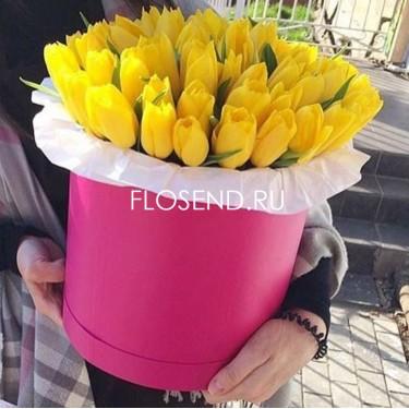 Цветы в коробке № 207